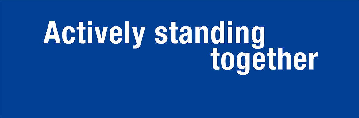 Actively Standing Together
