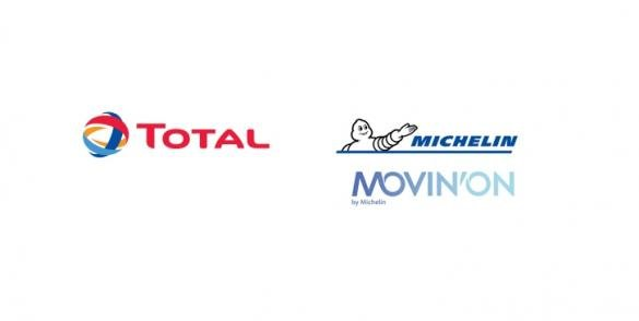 Logo Total et Michelin